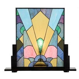 Coloured French Art Deco Tiffany Paneel