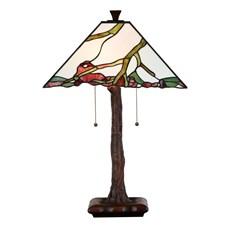 Tiffany Tischleuchte Exotic Maple