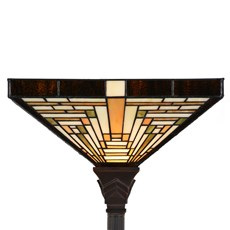 Tiffany Stehleuchte Rising Sun Uplighter