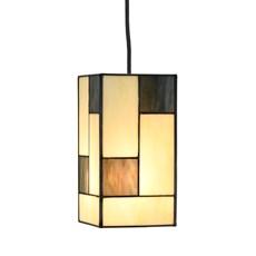 Tiffany Pendelleuchte Mondriaan small square