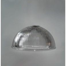 Glaskappe Industrie 1/2 Kugel 300