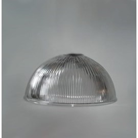 Glaskappe Industrie 1/2 Kugel 250