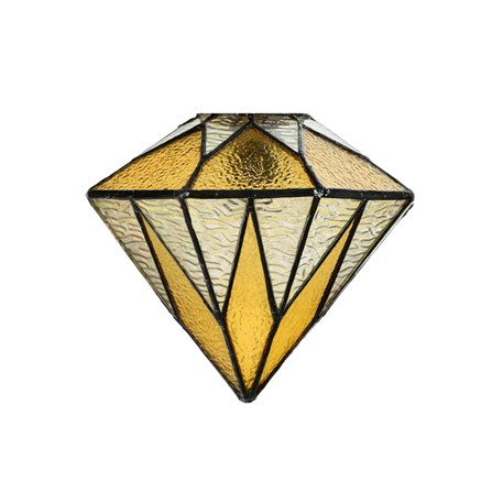 Glasschirm Tiffany Aiko Yellow