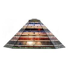 Einzeln Glasschirm Tiffany Industrial large