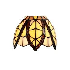 Einzeln Glasschirm Tiffany Flow Souplesse small