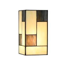 Einzeln Glasschirm Tiffany Mondriaan small