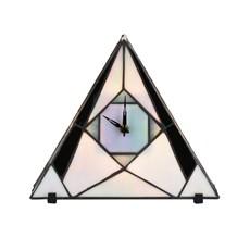 Tiffany Uhr / Tischlampe French Art Deco