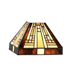 Glasschirm Tiffany Rising Sun small