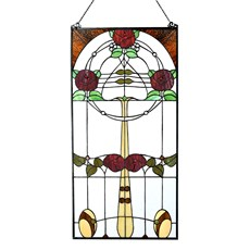 Mackintosh Rose Tiffany Panel