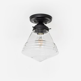 Deckenlampe Luxe School Small Transparent Moonlight