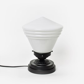 Niedrige Tischlampe School de Luxe Small Moonlight