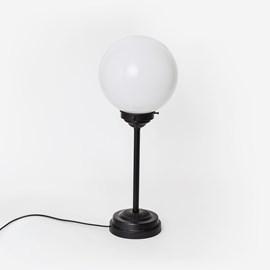 Schlanke Tischlampe Globe Ø20 Moonlight