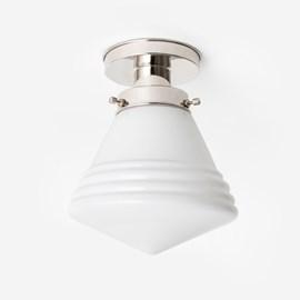 Deckenlampe Luxuriös Schule Klein 20's Nickel