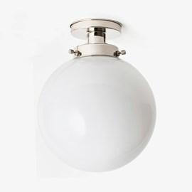 Deckenlampe Globe Ø 30 20's Nickel