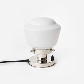 Tischlampe High Button 20's Nickel