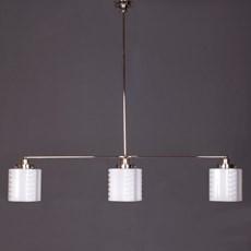 Hängelampe 3-Lichter mit Glasschirm de Klerk