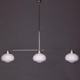 Hängelampe 3-Lichter mit Glasschirm Alfons