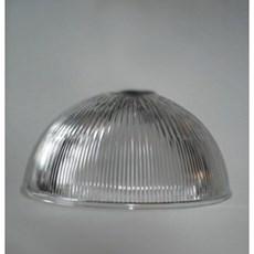 Glaskappe Industrie 1/2 Kugel 380