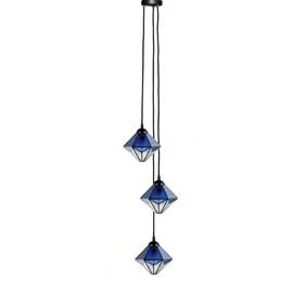 Tiffany Kronleuchter Akira Blue 3