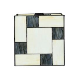 Glasschirm Tiffany Mondrian Cubic