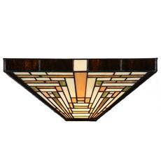 Glasschirm Tiffany Rising Sun