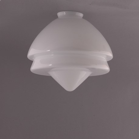 Glas Art Deco Pointy Large