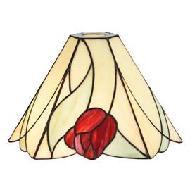 Einzeln Glasschirm Tiffany Tulip
