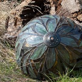 Einzeln Glasschirm Tiffany Willow