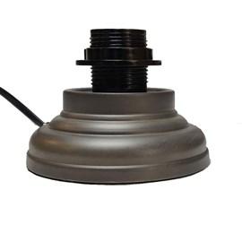Gerundet Tischlampe Armatur mit  E-27